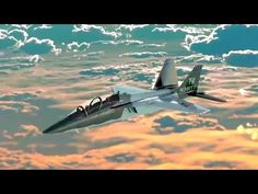 Boeing - T-X Advanced Trainer/Light Strike Aircraft Simulation [720p] - YouTube