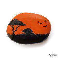 painted rocks sunsets ile ilgili görsel sonucu
