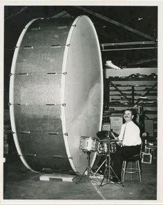 World's biggest bass drum