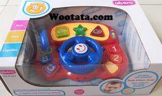 Permainan Bayi 1 Tahun Enlightening Steering Wheel