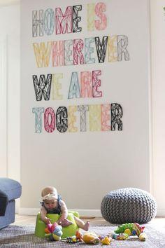 décoration mariage mots