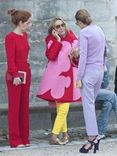 Paris Fashion Week! Weeerrrrrk motha! YEEEESSS!