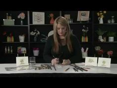 Art Impressions - Water Color Technique - YouTube****  Love this technique and these stamps!
