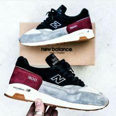 New Balance Md 1500 (Burgundy & Navy Pack) Sneaker Freaker