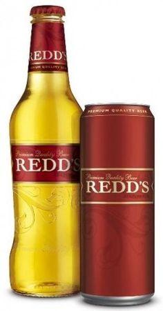 Cerveja Redd's, estilo Fruit Beer, produzida por SABMiller RUS, Rússia. 4.5% ABV de álcool.