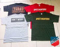 Speedhunter T - Shirt ( High Quality Tees ) Berminat bisa menghubungi :  Yogi FBC : 081219197737 Workshop : Jl. Al - Bariyah RT 02/10 No. 18 A  Kramat Jati Jakarta TImur