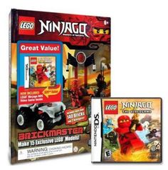 Best Buy is offering a LEGO Ninjago Bundle with LEGO Battles: Ninjago Video Game (Nintendo DS) and 140 LEGO Bricks for $14.99!