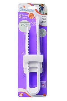Dreambaby Sliding Locks 3 Pack >>> You can get additional details at the image link.