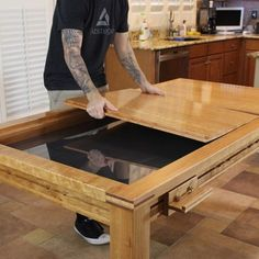 game table building plans - wood whisperer guild