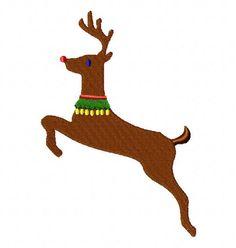 Reindeer-2 EmbroiderOcean Design
