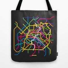 paris metro map Tote Bag by sunday Metro Map, Paris Metro, Sunday, Reusable Tote Bags, Gifts, Stuff To Buy, Domingo, Presents, Favors
