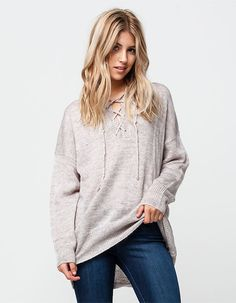 WHITE CROW Dance With Me Womens Sweater