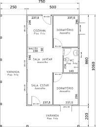 projeto apartamento 50m2 - Pesquisa Google House Plans Uk, Little House Plans, Guest House Plans, Narrow House Plans, 2 Bedroom House Plans, Small Floor Plans, Bungalow House Plans, Modern House Plans, Layouts Casa