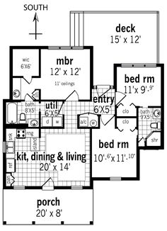 images about House plans on Pinterest   House plans  Square    Floor Plan image of Rutherford house