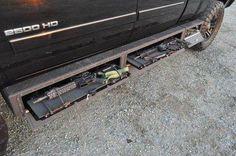 Under truck gun storage. Sweet!!!
