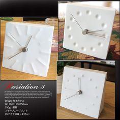 抜群のインパクトを与える置時計!カナエテーブルクロック(kanaetableclock)タカタレムノス(TAKATALemnos)KC10-12/KC10-13/KC10-14バリエーション(ドロップドローザエグジスタンス/テンション/ファイヤーワークス)