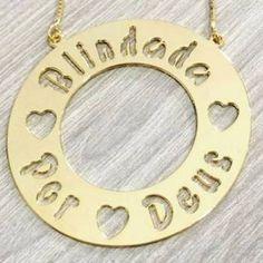 Colar com mandala slim (formato de círculo), folheada a Ouro, Ródio (ouro branco) ou Prata. Produto sob ENCOMENDA (ler descrição detalhada abaixo).