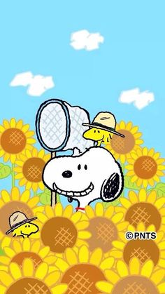Sunflower Snoopy