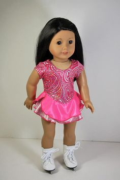 American Girl Doll ClothesIce Skating Dress by sewurbandesigns, $24.00