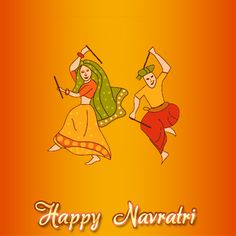 Navratri Splash Page for Android App