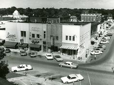 1970's The corner of East Main Street and North Church Street. — at Historic Downtown Murfreesboro.