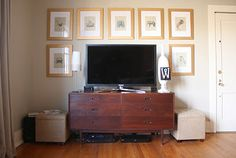 Small Bedrooms Tv Ideas Best Of Dwell and Tell Tv Wall Finally Un Empty Living Room Grey, Living Room Modern, Home Living Room, Living Spaces, Bedroom Tv Stand, Tv In Bedroom, Master Bedroom, Teenage Bedroom Decorations, Tv Wall Design