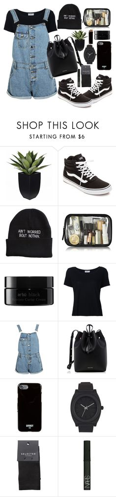 """fav🔛"" by groovybeauty ❤ liked on Polyvore featuring Vans, arbÅ«, Frame, Boohoo, Mansur Gavriel, Givenchy, Nixon, SELECTED and NARS Cosmetics"