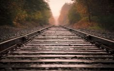 Railroad Tracks Picture love the depth of field field Zug Wallpaper, Train Wallpaper, Wallpaper Backgrounds, Widescreen Wallpaper, Locked Wallpaper, Railroad Track Pictures, Railroad Tracks, Scenery Background, Background Images
