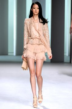 Elie Saab Spring 2011 Ready-to-Wear Fashion Show - Lili Ji (ELITE)