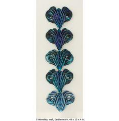 Mary Roettger Ceramic Arts - St. Paul Minneapolis Minnesota Ceramic Sculpture studio. Fins.