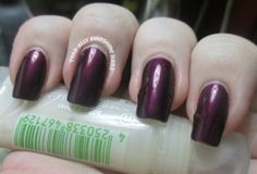@zoyanailpolish Haven, a dark metallic purple.