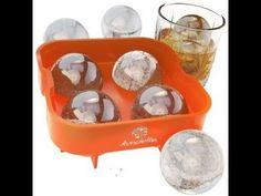 Must Have Kitchen Gadgets:The Aunchitha Ice Ball Maker, Premium Ice Ball Mold, Ice Balls Melt Slowly Without Diluting Your Drinks Must Have Kitchen Gadgets, Good Whiskey, Smart Kitchen, Awesome Kitchen, Thing 1, Mold Making, Kitchen Essentials, Cool Kitchens, Dog Bowls