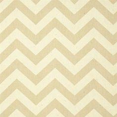 Khaki Chevron Fabric by the yard Premier Prints by FabricSecret, $4.98