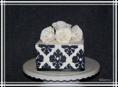 Black and White - Cake by Galyna Harb