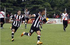 Matías Faguaga fue el goleador en la final del Clausura local.