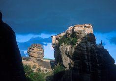 monastery at Meteora, Greece