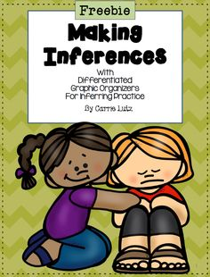 Inferring is a hard skill to teach and to assess. I found that my first grade students do so much better when I scaffold their instruction by giving them the inference and asking for the text. They finally began to be able to give me the inference when I gave them the text. We are still working on completing the entire graphic organizer independently, but this will be better to leave for 2nd and 3rd graders. This is a great way to introduce, practice and assess.