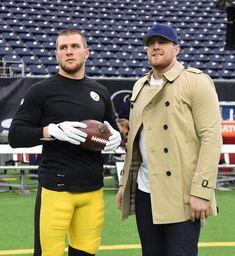 12/25/2017 T.J. Watt and big brother J.J. Watt.