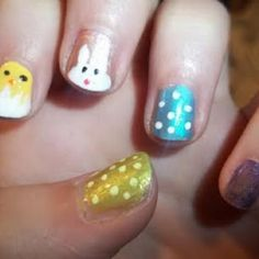 Easter Fingernail Polish