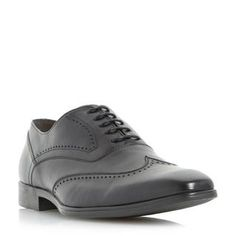 ROLAND CARTIER MENS RICKMAN - Leather Oxford Brogue - black | Dune Shoes Online
