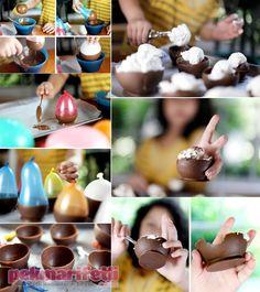 Çikolatadan kase nasıl yapılır? | Mutfak | Pek Marifetli!