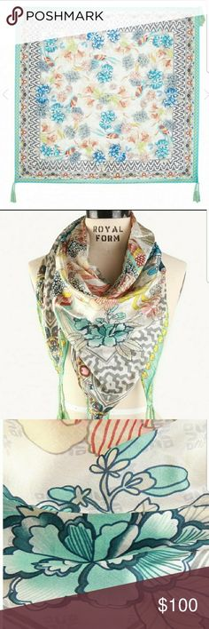 Johnny was scarf Johnny was BAY HILL SCARF NEW OPEN TO OFFERS Johnny Was Accessories Scarves & Wraps