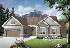 House plan W3226-V2 detail from DrummondHousePlans.com
