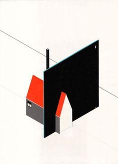 Arquitecturas fantásticas: Las ilustraciones de Bruna Canepa