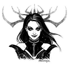 I absolutely love Hela from Thor Ragnarok! She is a great villain!