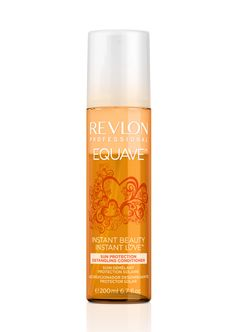 Equave Sun Protection Detangling Conditioner from Revlon Professional protects your hair against damage from the sun's rays. This haircare repairs and detangles hair and provides it with moisture. Revlon Professional, Drugstore Makeup Dupes, Beauty Dupes, Beauty Products, Makeup Products, Hair Products, Leave In, Serum, Hard Candy Makeup