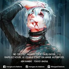 Le diable et un ange dechu Otaku Anime, Manga Anime, Tokyo Ghoul, Deep Texts, Yes Man, Savage Quotes, Manga Quotes, Harry Potter, Badass Quotes