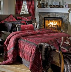 Hear the Bagpipe playing as you roll into your Highland Lake Plaid Bedding Collection this Holiday Season. Rich, crimson hues combine in a subtle plaid print, in our Highland Lake Plaid Comforter Sets creating an instant, tangible warmth. Western Bedding, Rustic Bedding, Modern Bedding, Plaid Comforter, Comforter Sets, Queen Bedding, Comforter Cover, King Comforter, Brown Comforter