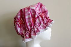 Vintage Style Shower Cap. Handmade. PVC & BPA Free. by PureHaven, $23.99 Vintage Style, Vintage Fashion, Shower Cap, Bath And Body, Baby Car Seats, Lab, Handmade, Free, Etsy