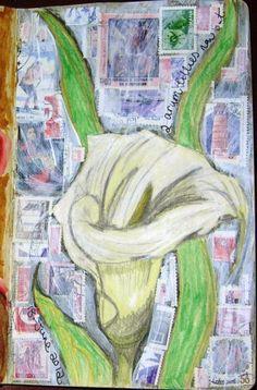 Art Journal Page by Jennibellie, blogged at http://jennibelliestudio.blogspot.com